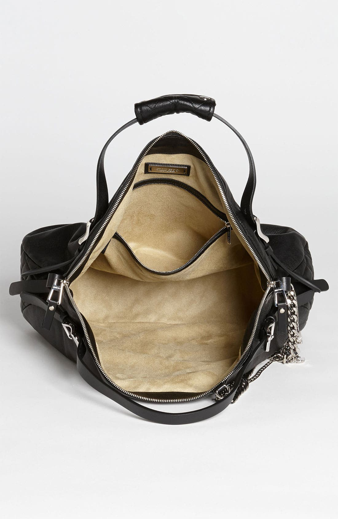 Alternate Image 3  - Jimmy Choo 'Blake Biker' Leather Shopper