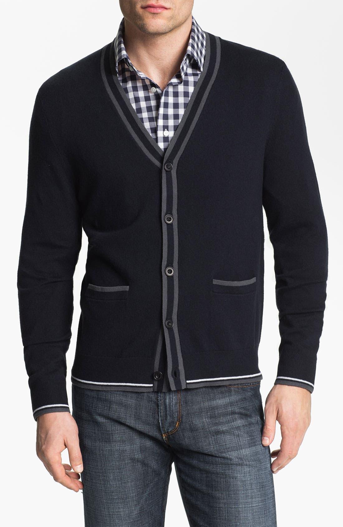 Main Image - Calibrate 'Demuth' Cashmere Blend Button Cardigan