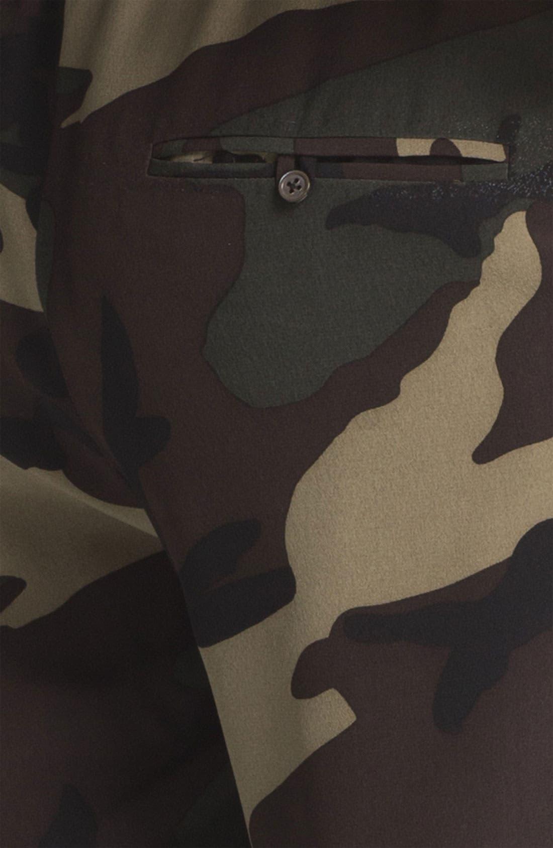 Alternate Image 8  - Haute Hippie Camo Print Drawstring Trousers