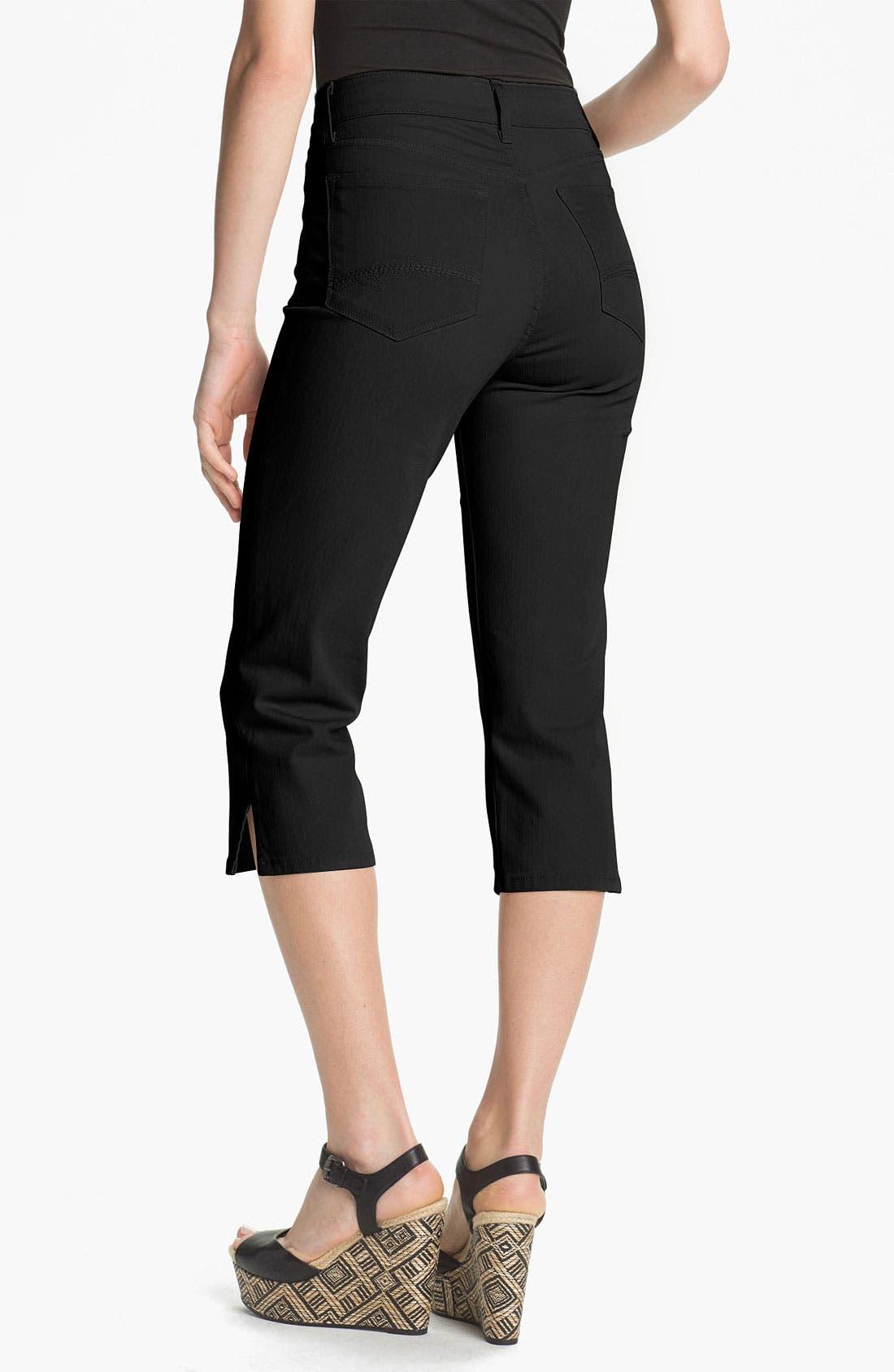 Alternate Image 2  - NYDJ 'Nanette' Crop Stretch Jeans (Petite)