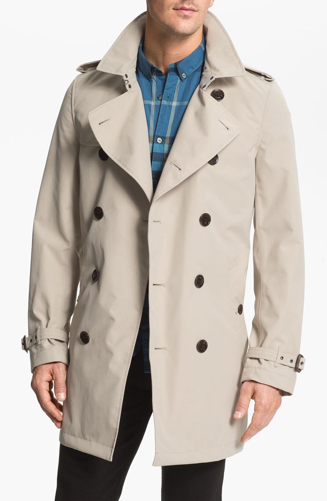 Alternate Image 1 Selected - Burberry Brit 'Britton' Trench Coat