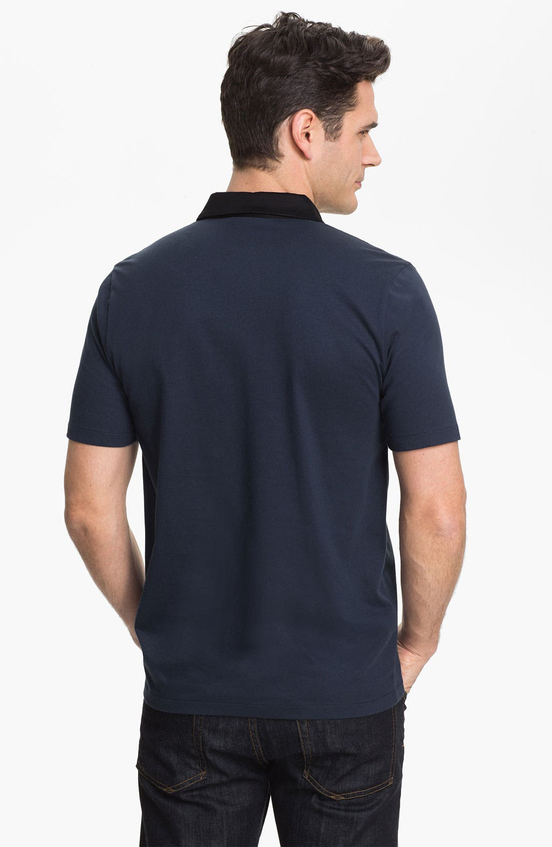 Alternate Image 2  - HUGO 'Dandroid' Trim Fit Polo