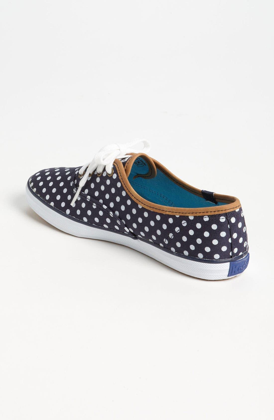 'Champion - Dot' Sneaker,                             Alternate thumbnail 2, color,                             Navy/ White