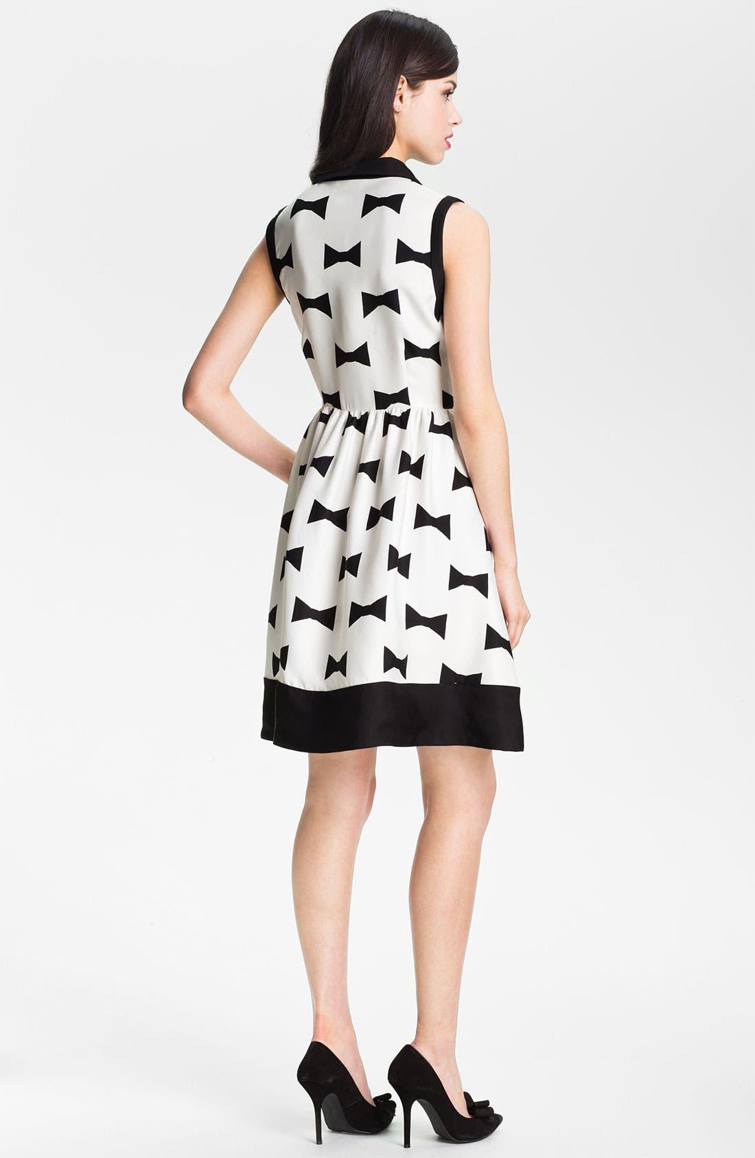 Alternate Image 2  - kate spade new york 'monroe' print fit & flare dress