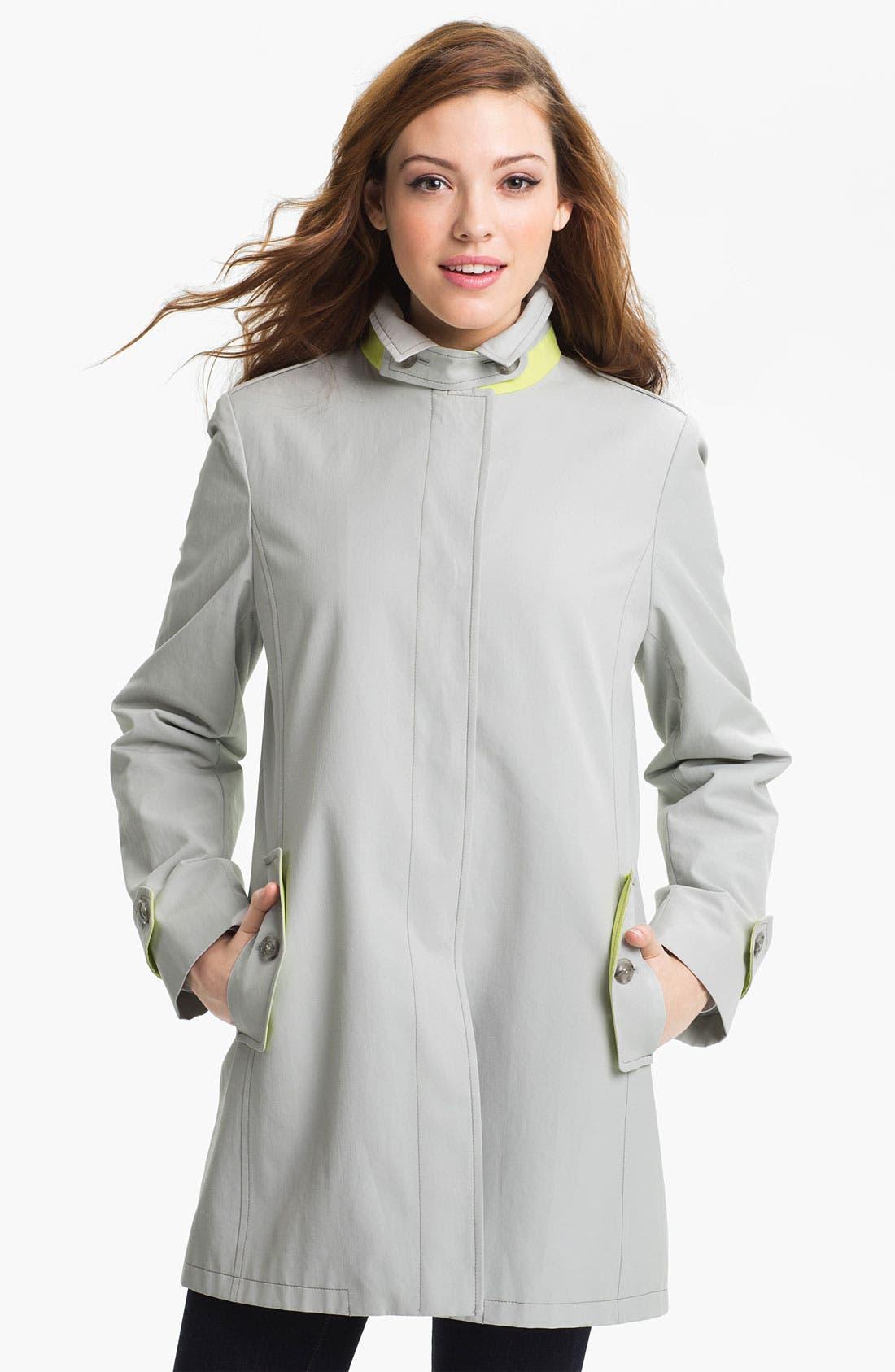 Alternate Image 2  - Cinzia Rocca Convertible Collar Coat