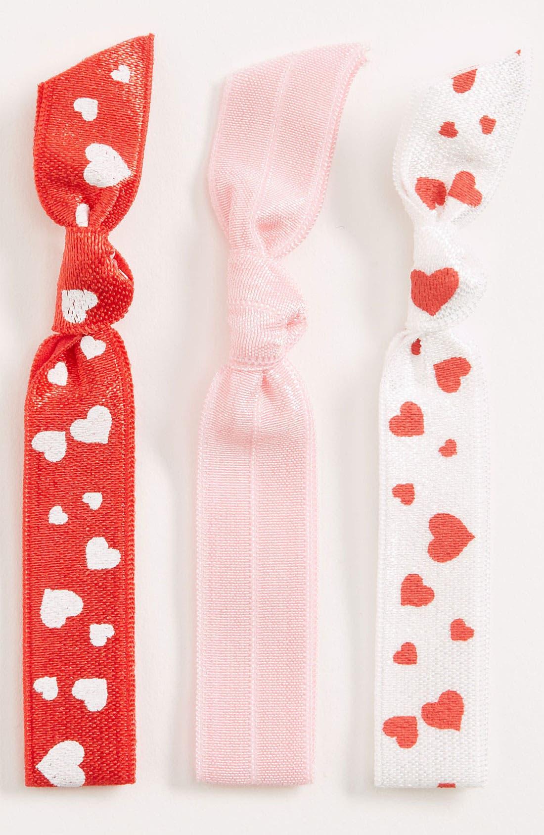 Alternate Image 1 Selected - Emi-Jay 'Valentine' Hair Ties (3-Pack)