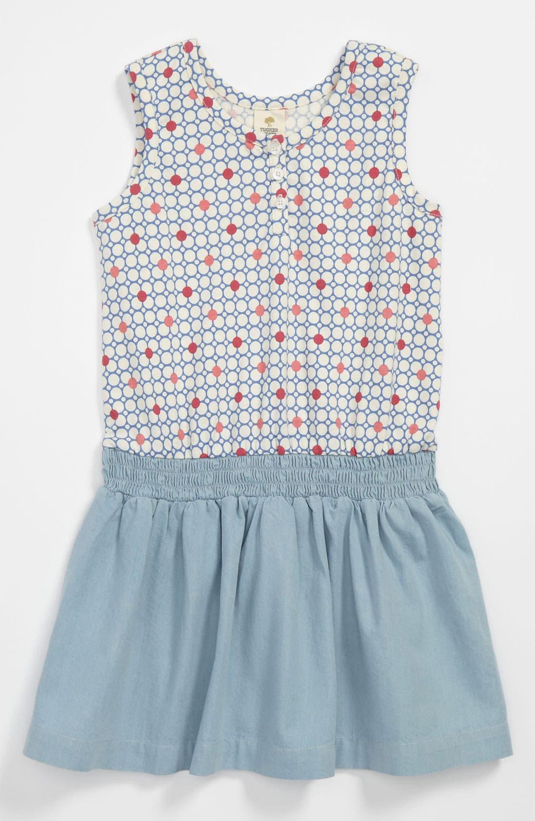 Main Image - Tucker + Tate 'Julia' Knit Dress (Little Girls)
