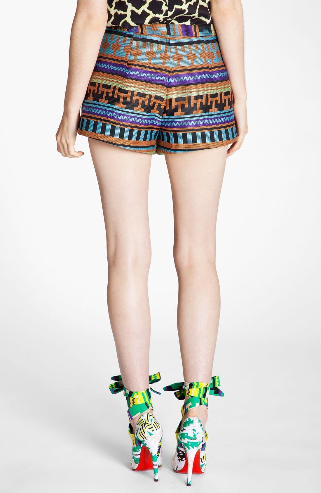 Alternate Image 2  - MSGM Ikat Print Jacquard Shorts