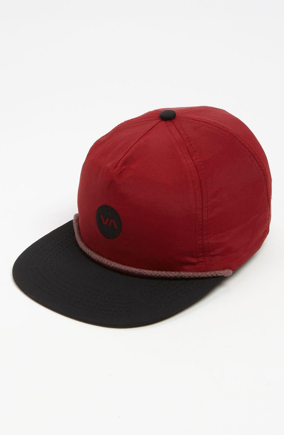 Main Image - RVCA 'Dot' Snapback Baseball Cap