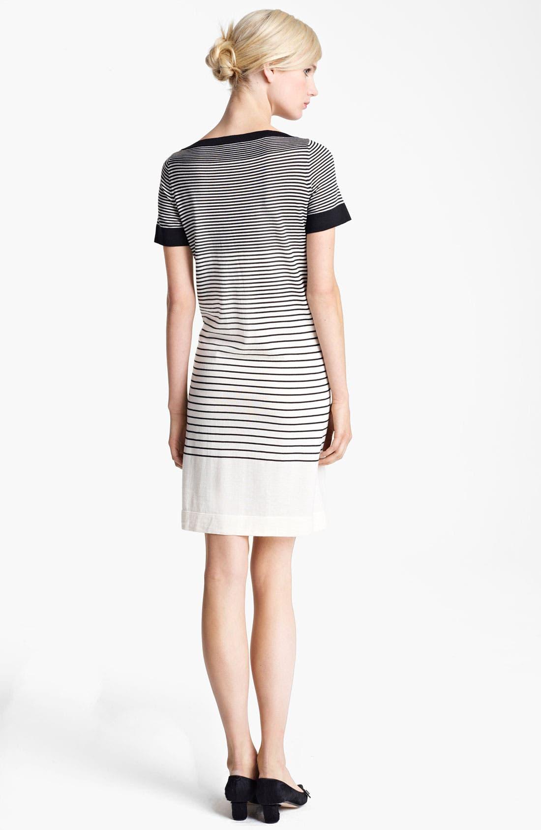Alternate Image 2  - MARC JACOBS Stripe Short Sleeve Dress
