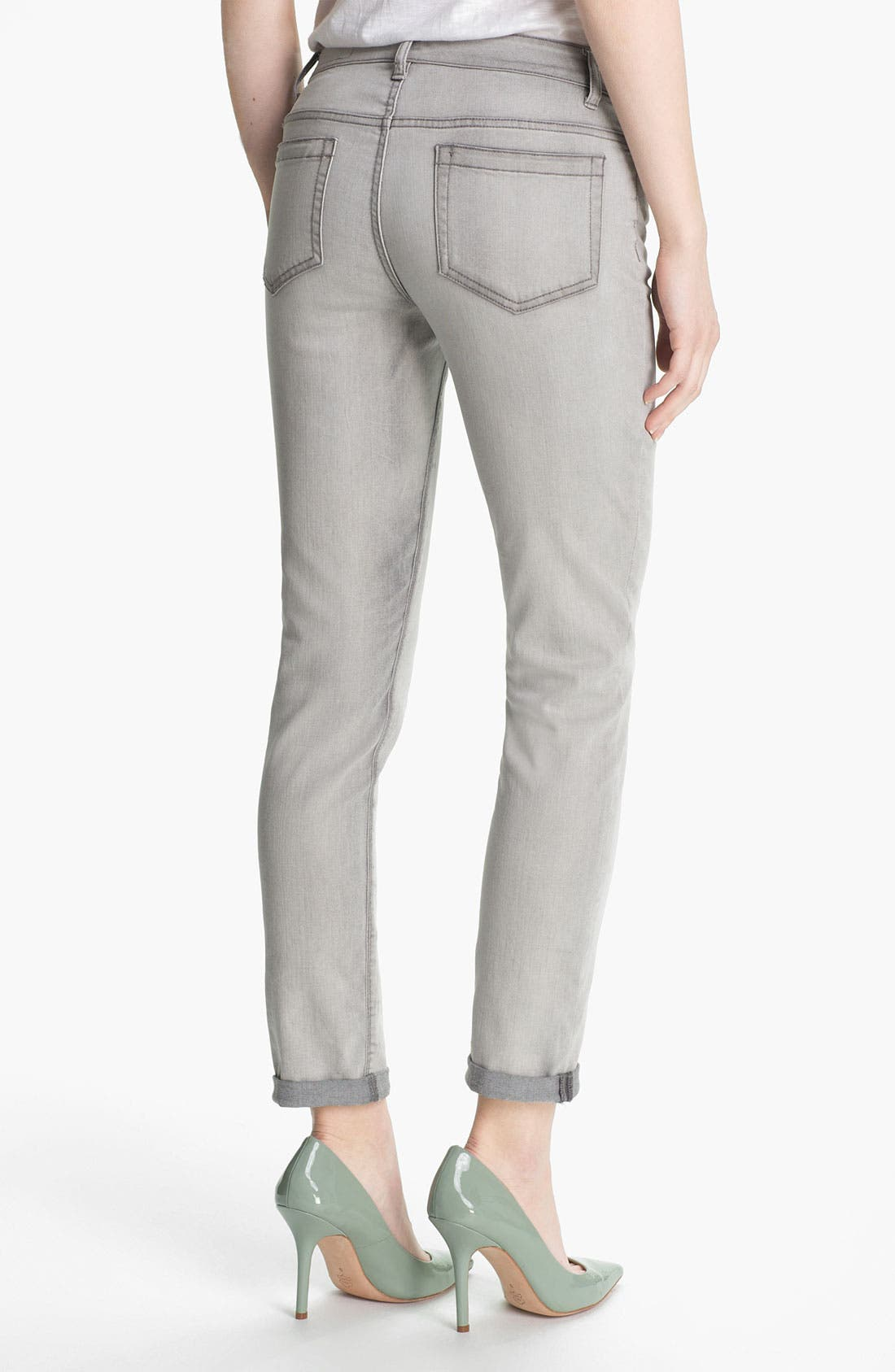 Alternate Image 2  - Two by Vince Camuto Cuff Crop Jeans