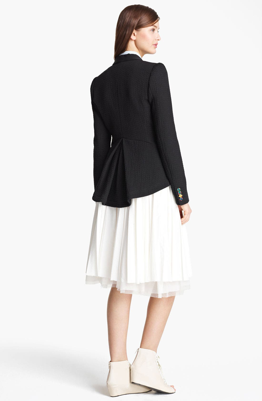 Alternate Image 4  - Band of Outsiders Pleated Skirt