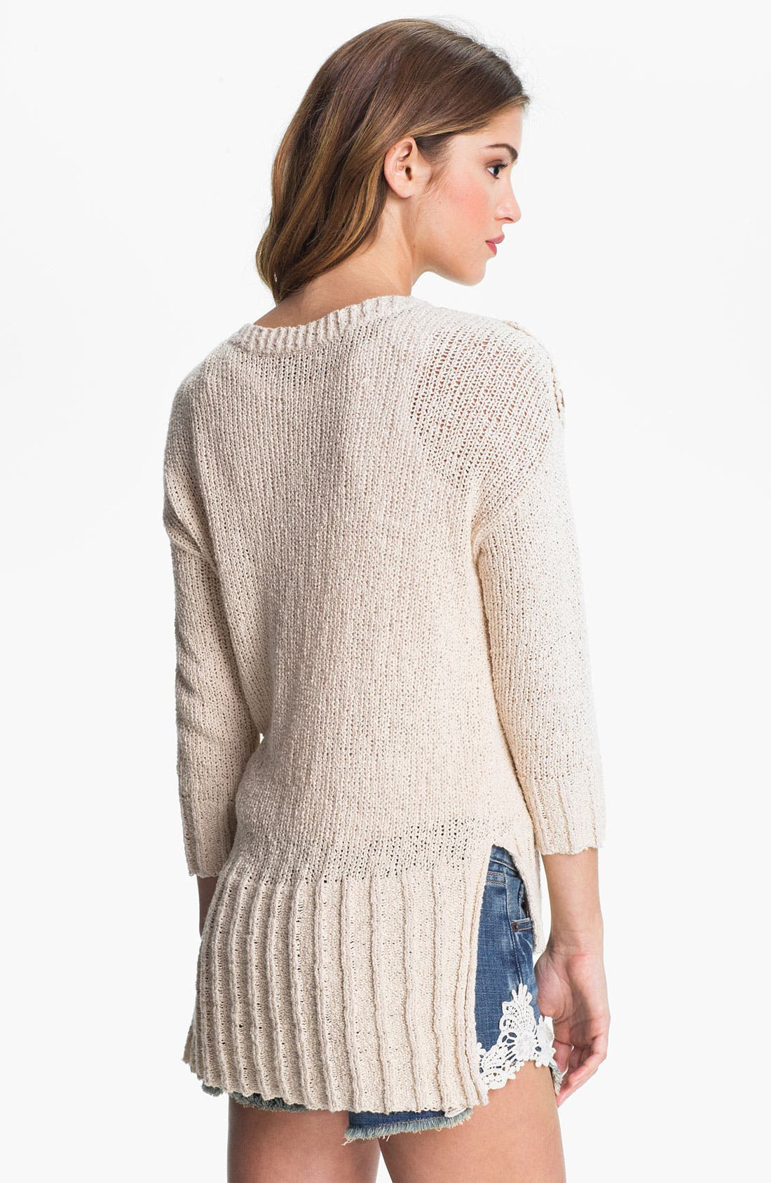 'Isabella' Sweater,                             Alternate thumbnail 2, color,                             Nigori