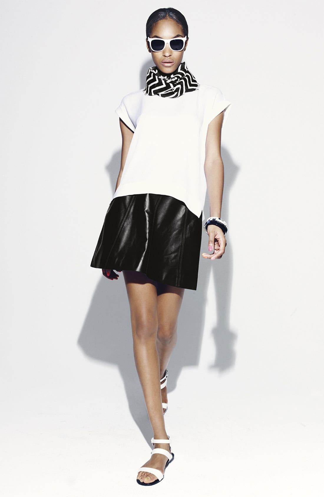 Alternate Image 5  - MARC BY MARC JACOBS 'Jett' Leather Skirt