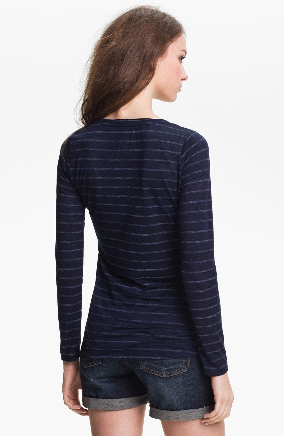Alternate Image 2  - Two by Vince Camuto Stripe Tee