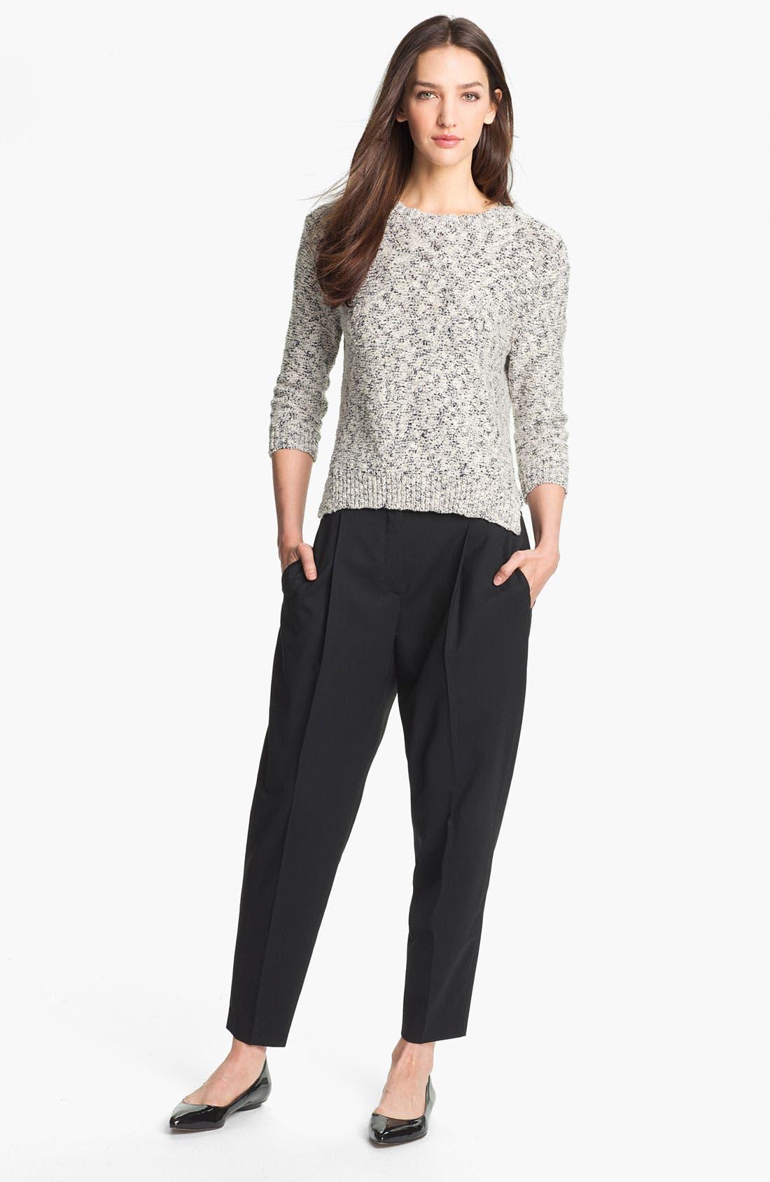 Alternate Image 4  - Theory 'Rainee' Cotton Blend Sweater