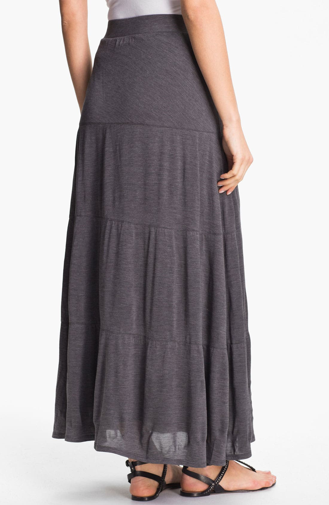 Alternate Image 2  - Eileen Fisher Tiered Maxi Skirt (Online Only)