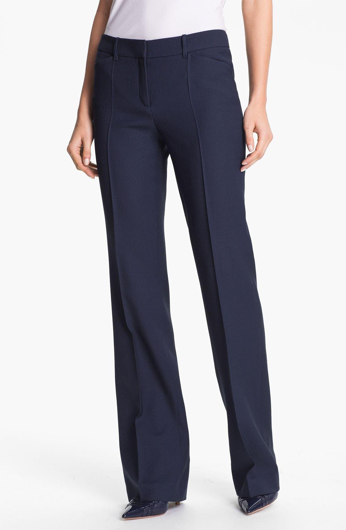 Alternate Image 1 Selected - BOSS Black 'Tuliasa' Wool Pants