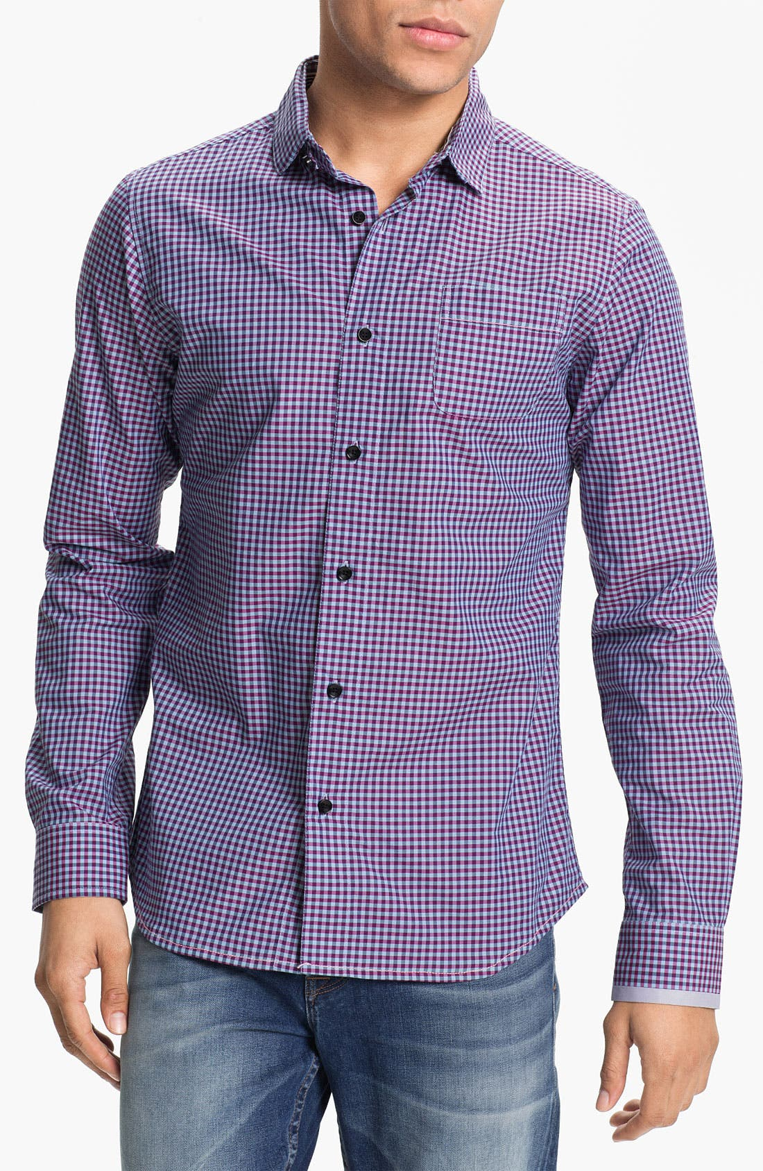 Alternate Image 1 Selected - Descendant of Thieves Gingham Shirt