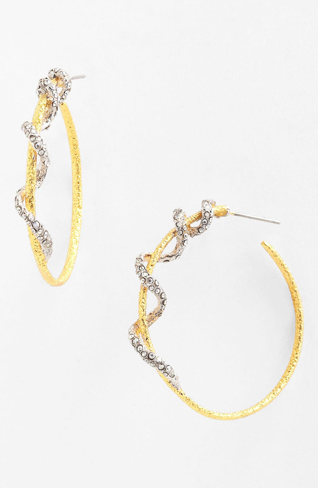 Main Image - Alexis Bittar 'Elements - Mauritius' Twisted Vine Hoop Earrings