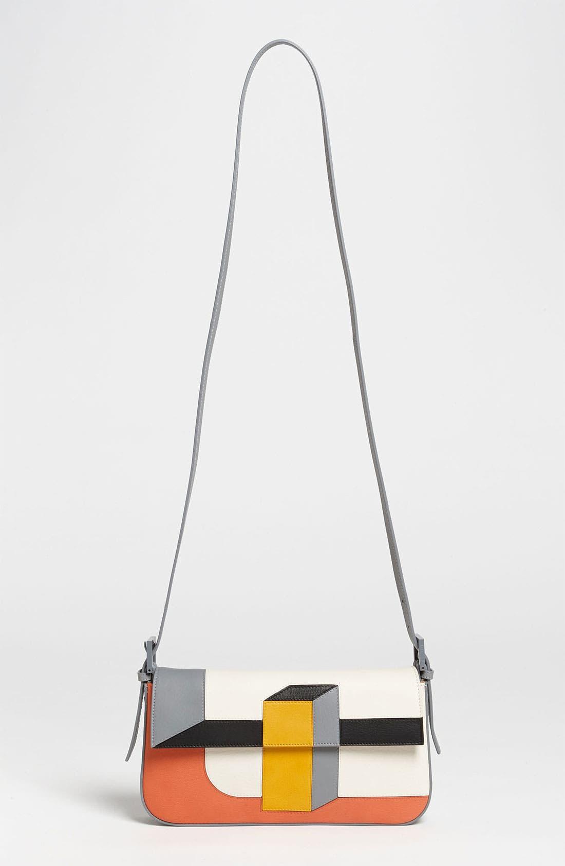 Alternate Image 5  - Fendi '3D' Leather Baguette