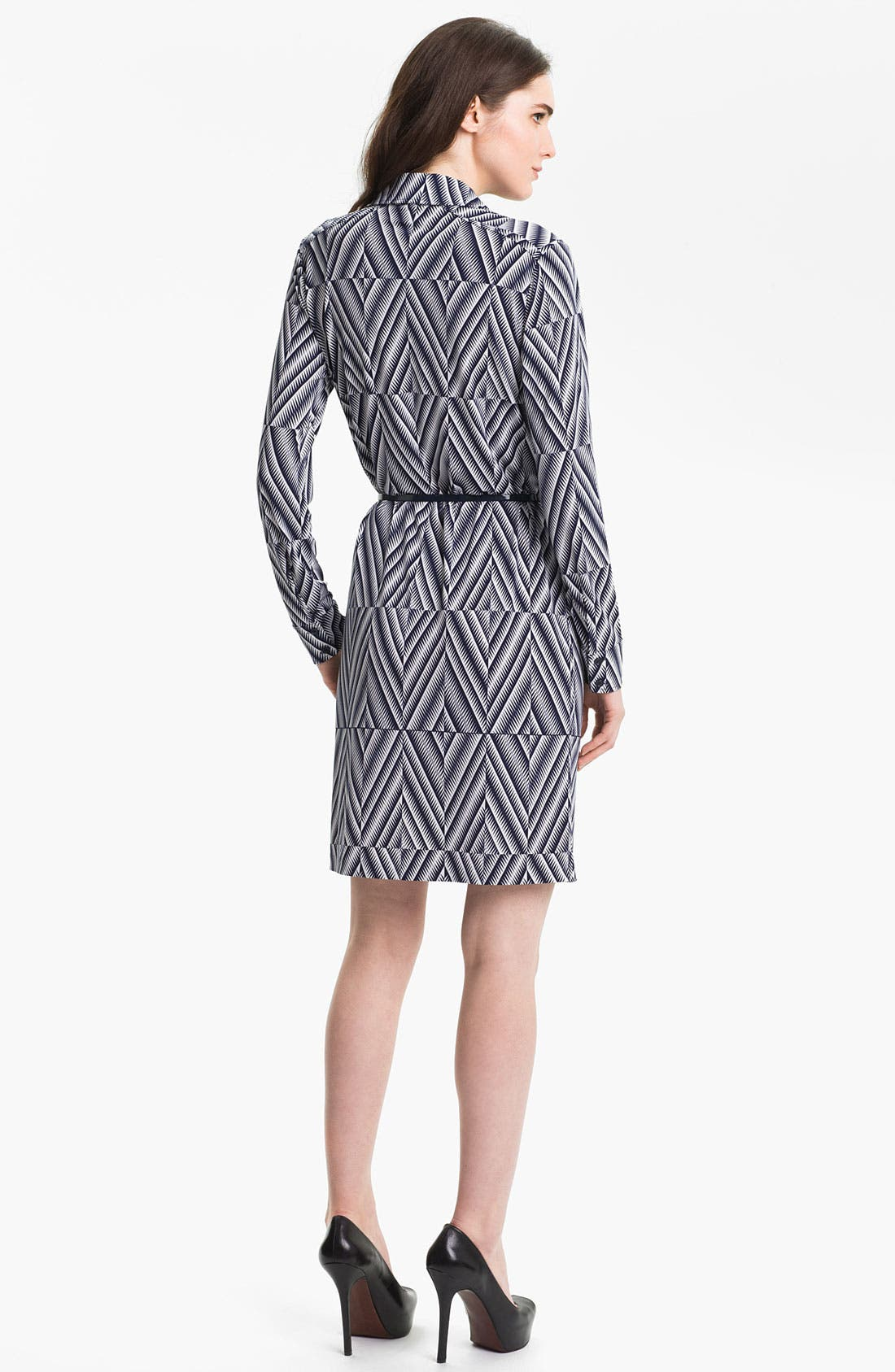 Alternate Image 2  - Anne Klein 'Leo - Diamond' Shirtdress