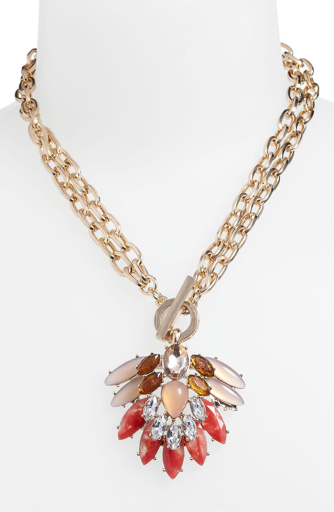 Alternate Image 2  - Anne Klein Convertible Pendant Necklace