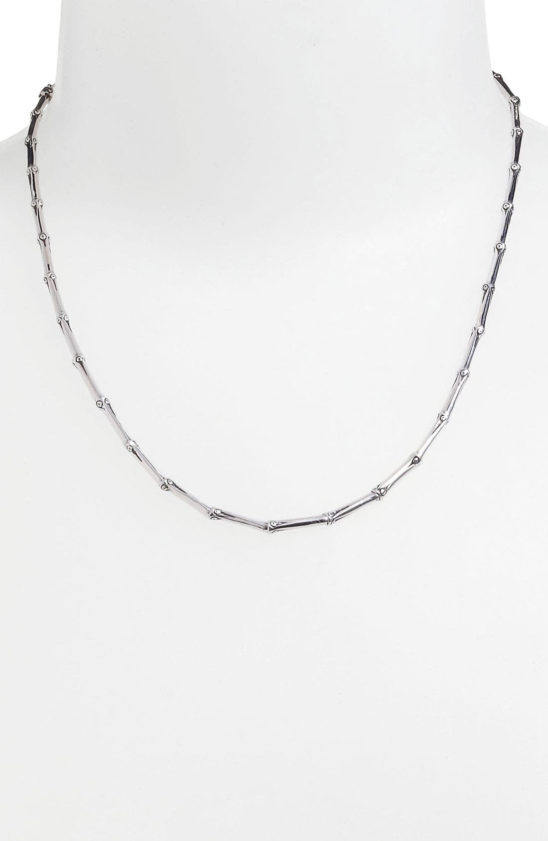 Alternate Image 1 Selected - John Hardy 'Bamboo' Single Row Necklace