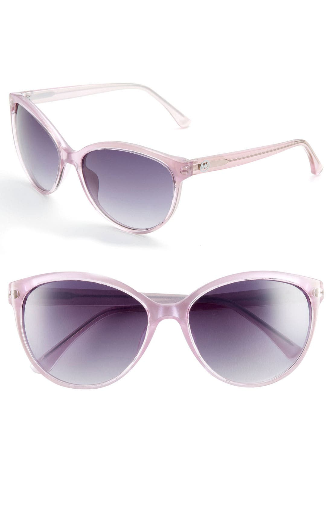 Main Image - MICHAEL Michael Kors 58mm Cat Eye Sunglasses