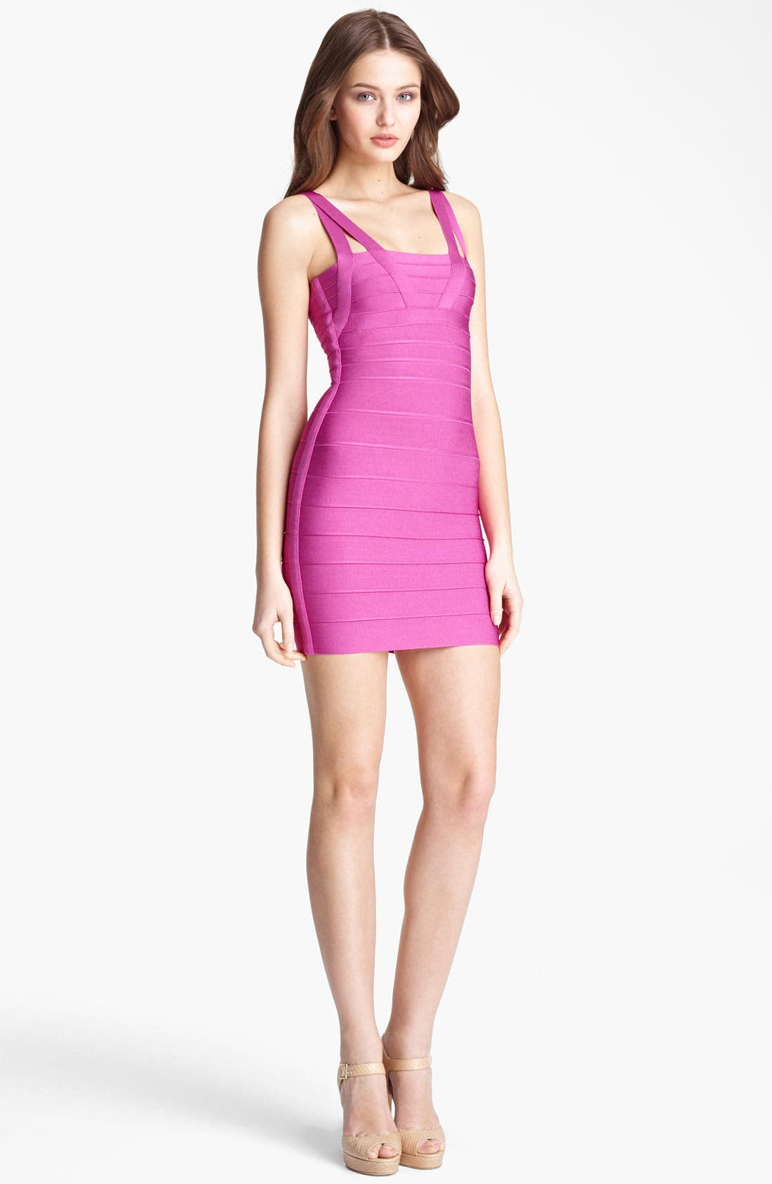 Alternate Image 1 Selected - CRISS CROSS DRESS WITH STRAPS