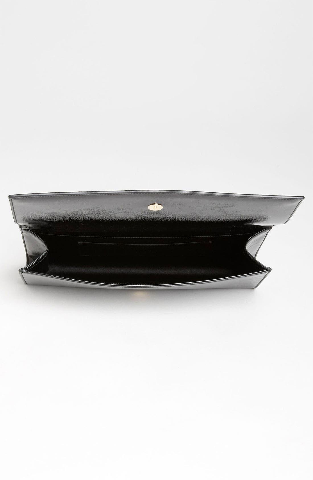 Alternate Image 3  - Saint Laurent 'Belle de Jour' Patent Leather Clutch