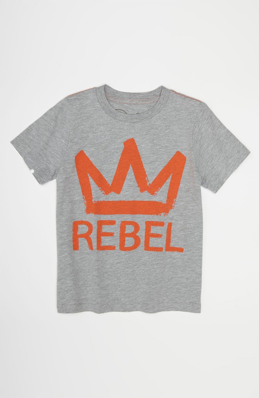 Alternate Image 1 Selected - Peek 'Rebel' T-Shirt (Big Boys)