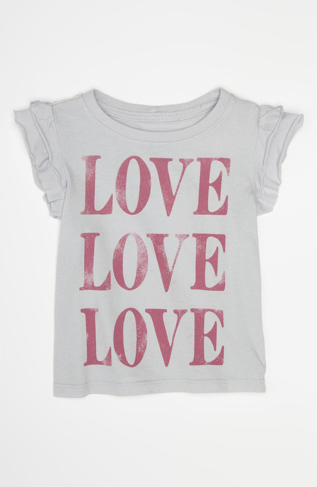 Alternate Image 1 Selected - Peek 'Love' Tee (Infant)