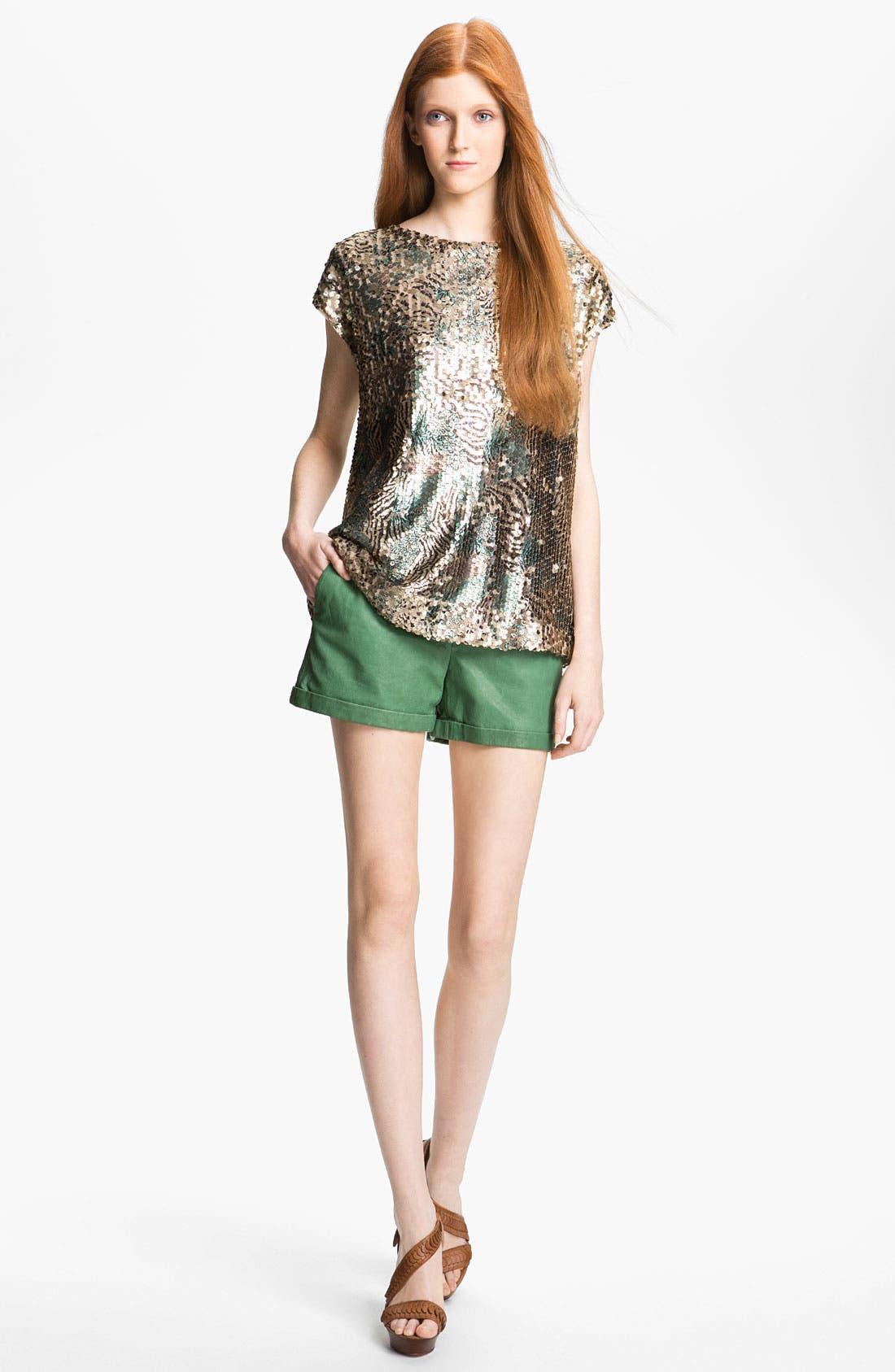 Alternate Image 1 Selected - Rachel Zoe 'Ashlynn' Sequin Top