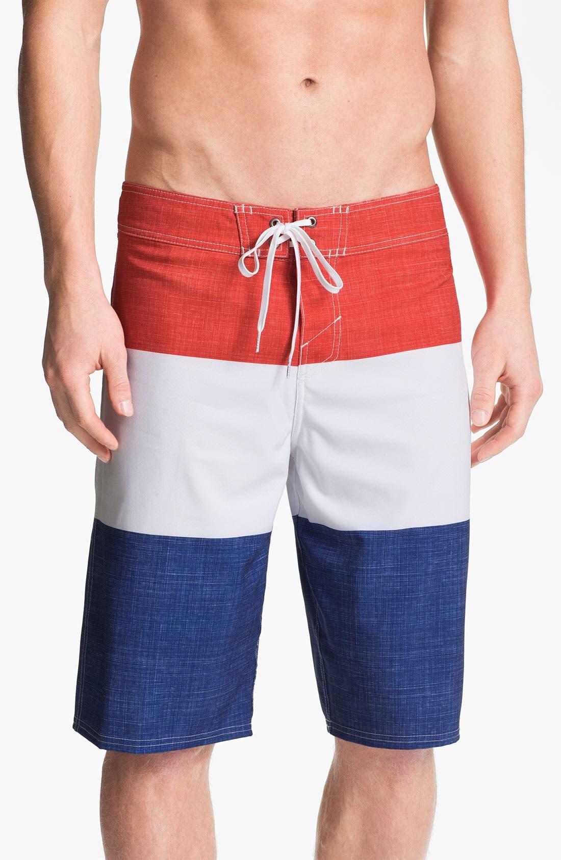 Main Image - O'Neill 'PBR Stripe' Board Shorts