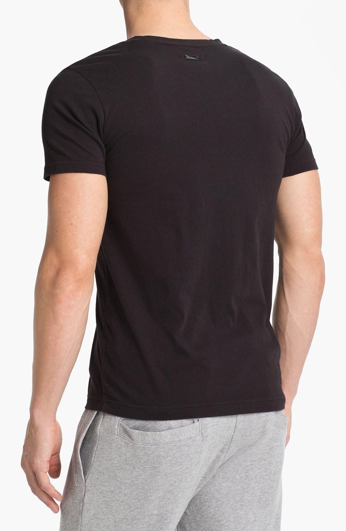Alternate Image 2  - adidas SLVR Stripe T-Shirt