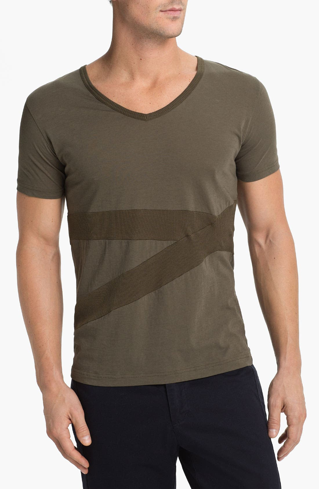 Alternate Image 1 Selected - adidas SLVR V-Neck T-Shirt