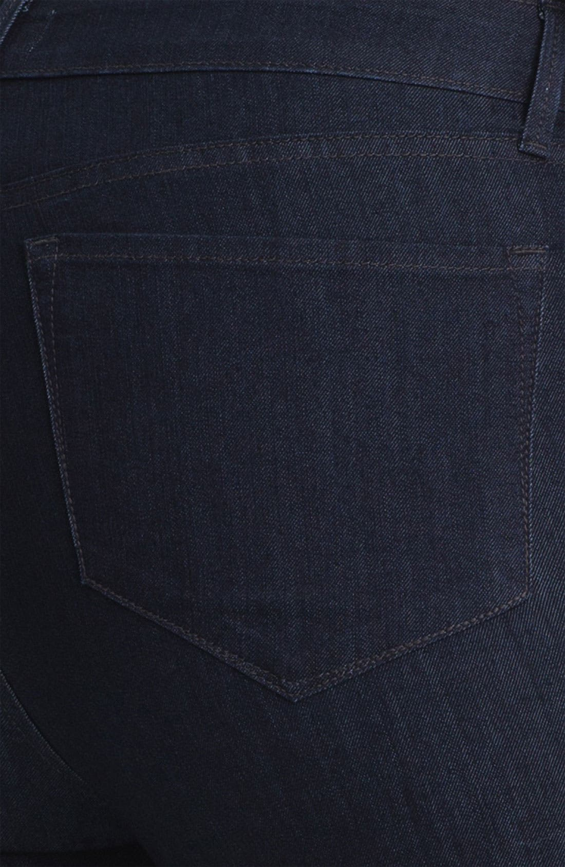 Alternate Image 3  - NYDJ 'Audrey' Stretch Ankle Skinny Jeans (Plus Size)