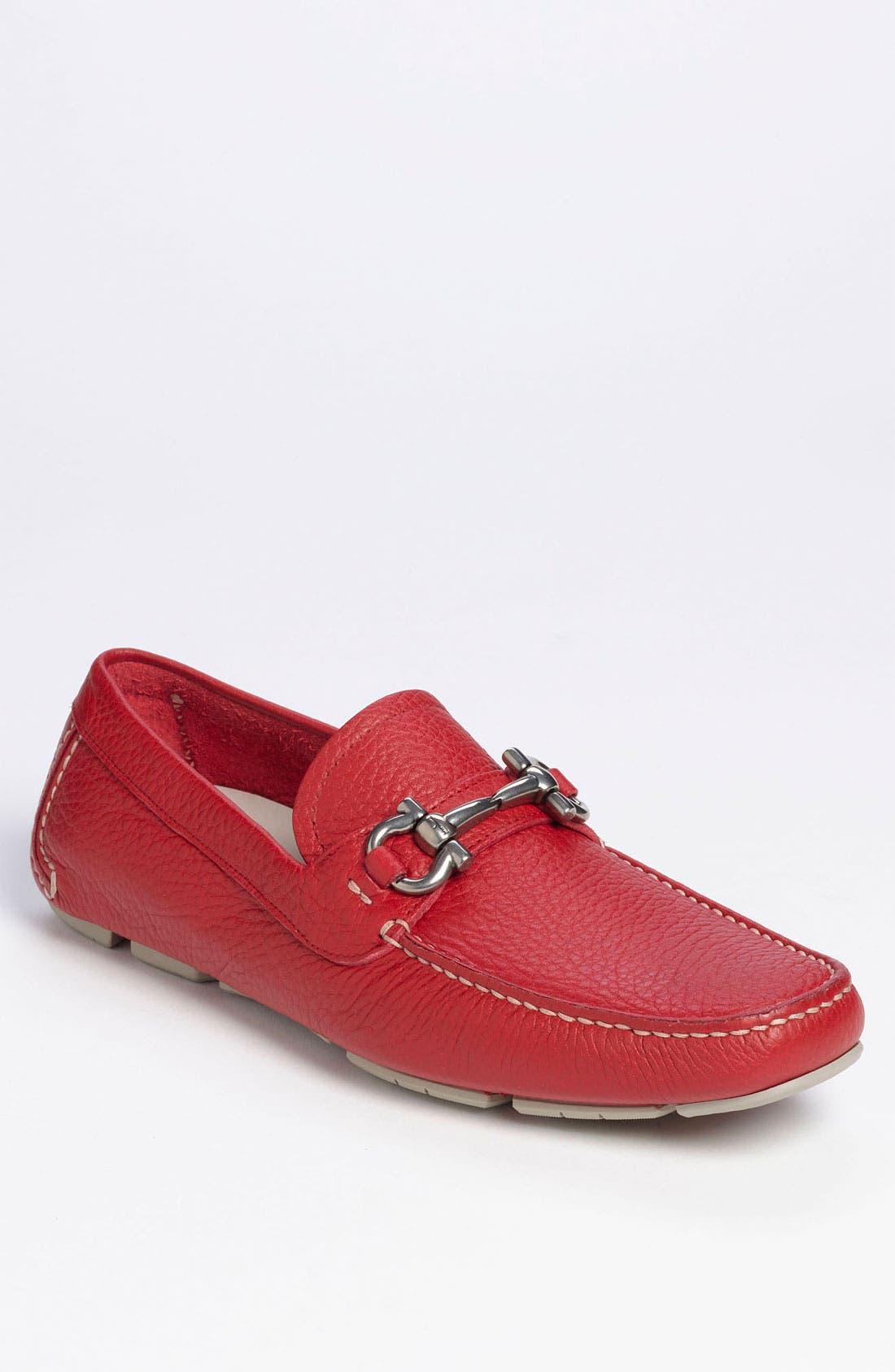 Alternate Image 1 Selected - Salvatore Ferragamo 'Parigi' Driving Shoe