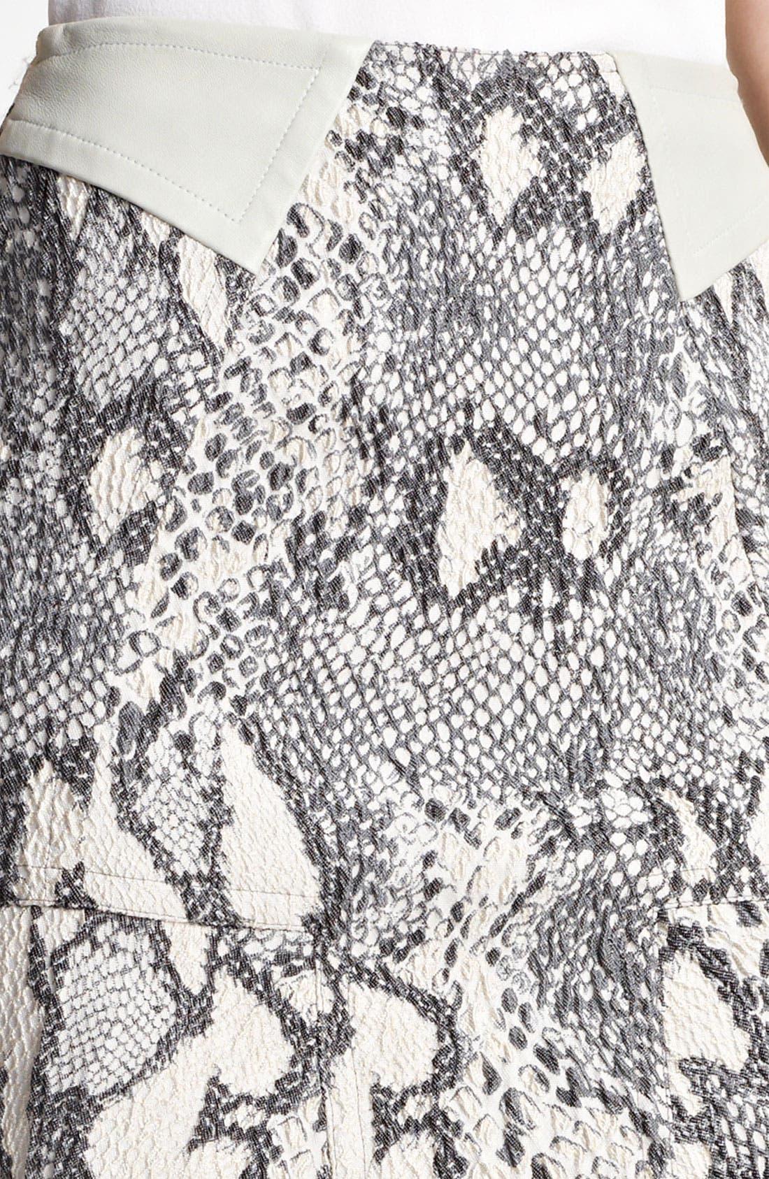 Alternate Image 5  - Yigal Azrouël Jacquard Skirt