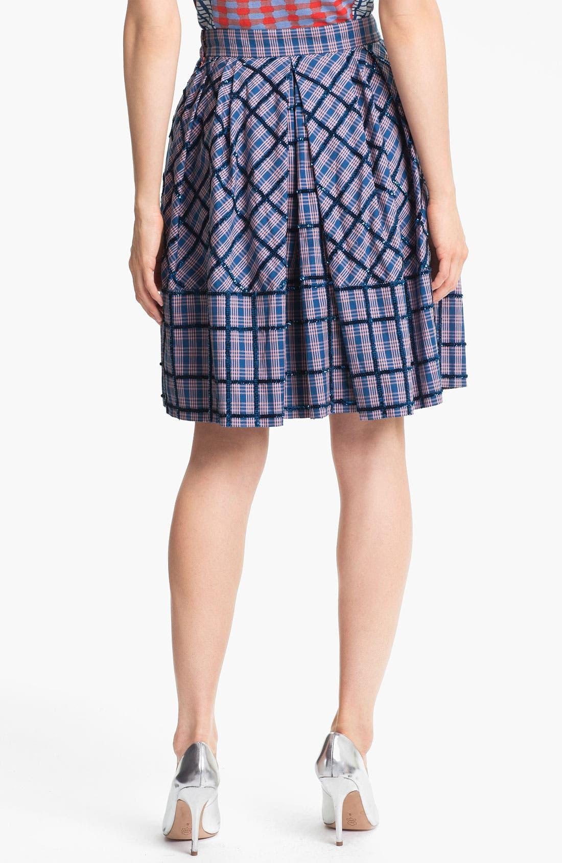Alternate Image 2  - MARC BY MARC JACOBS 'Belle Star' Sequin Plaid Skirt