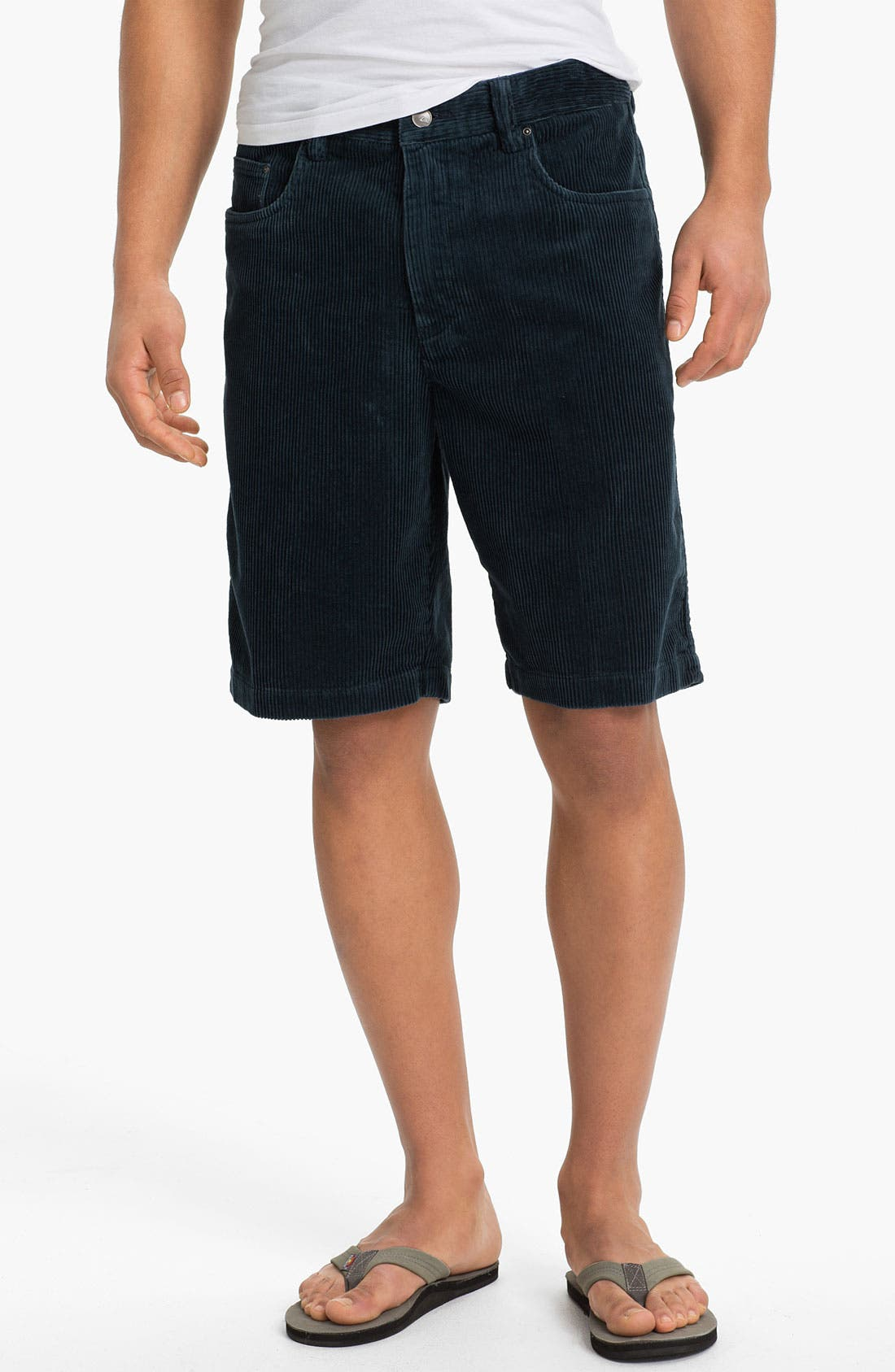 Main Image - Quiksilver Waterman Collection 'Supertubes 4' Corduroy Shorts