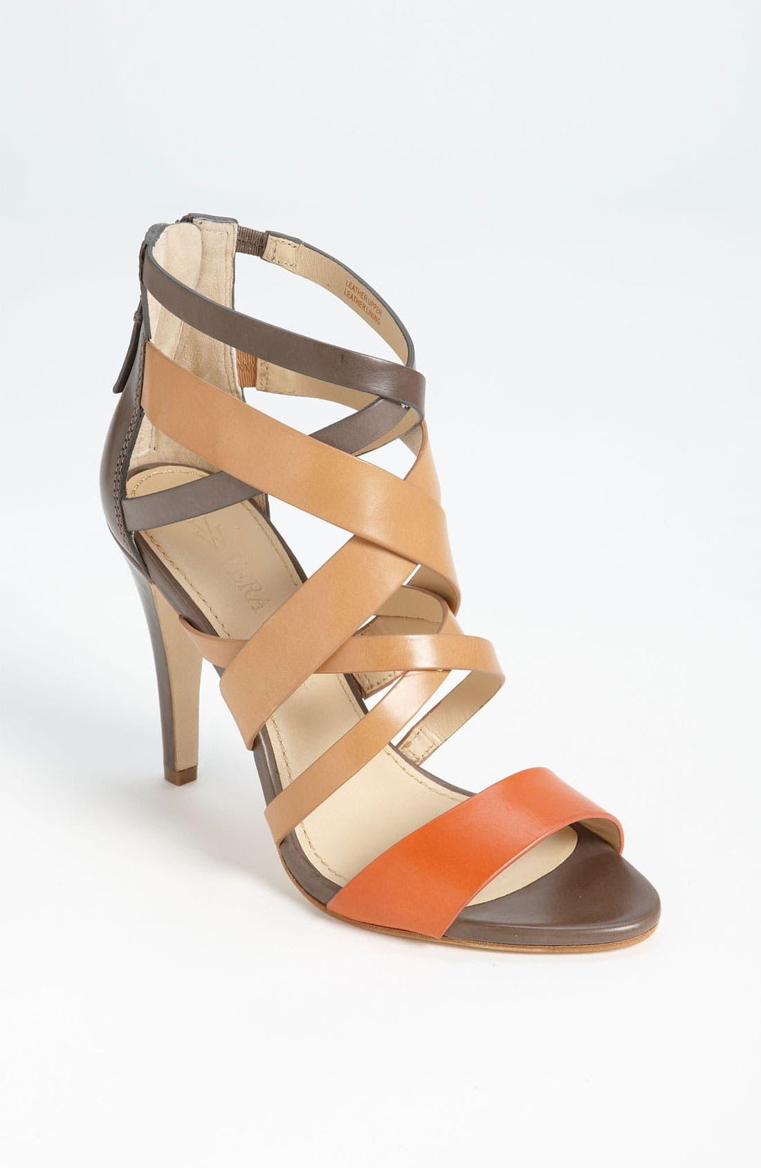 Alternate Image 1 Selected - Vera Wang Footwear 'Hinda High' Sandal (Online Only)