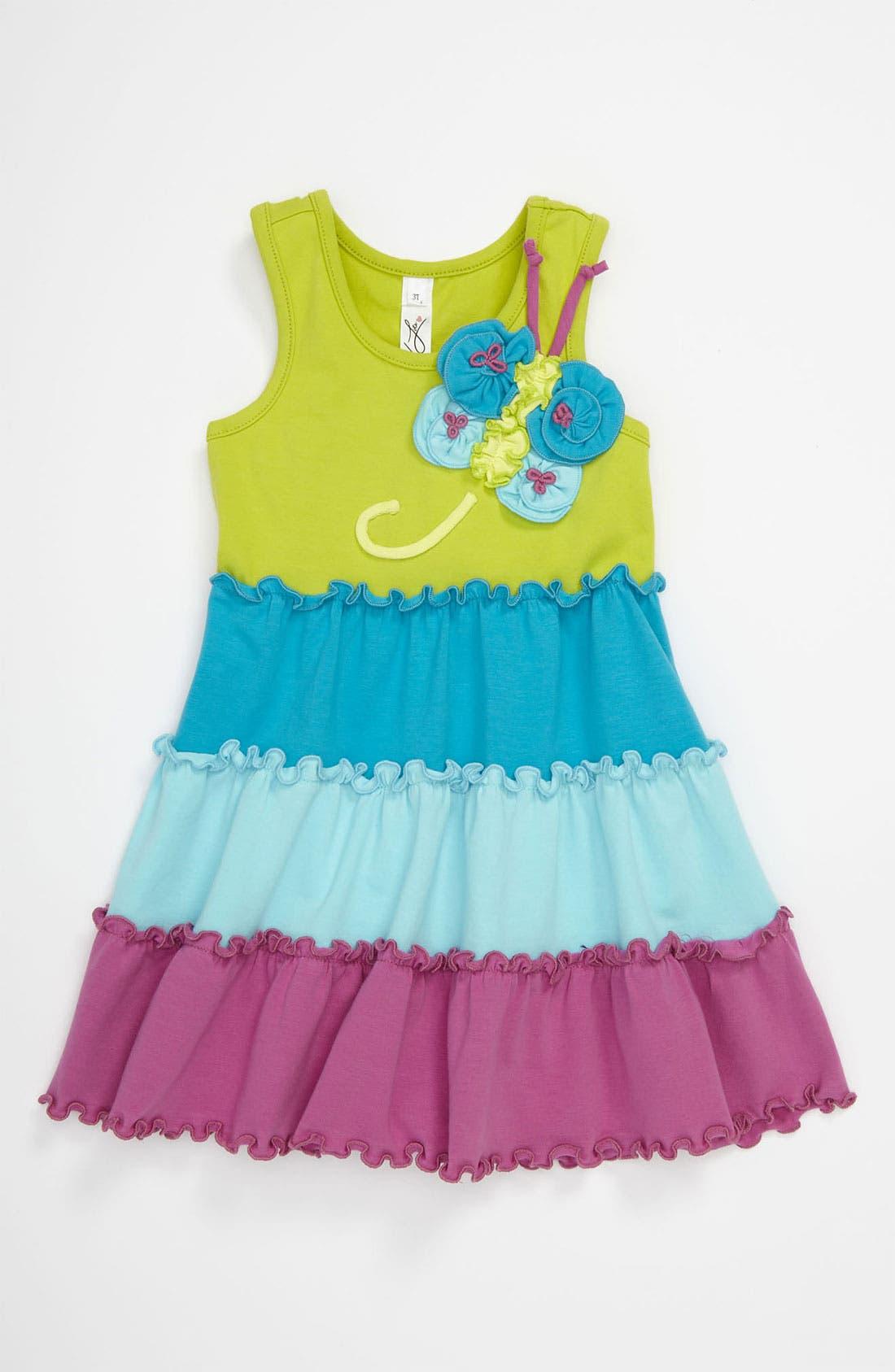 Alternate Image 1 Selected - Love U Lots 'Flower Butterfly' Dress (Toddler)