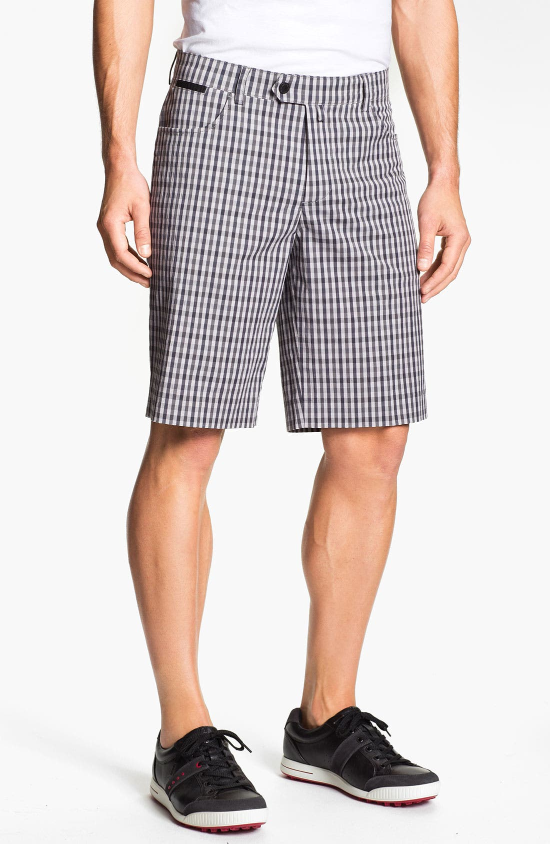 Alternate Image 1 Selected - Aquascutum Golf 'Sport Check' Golf Shorts