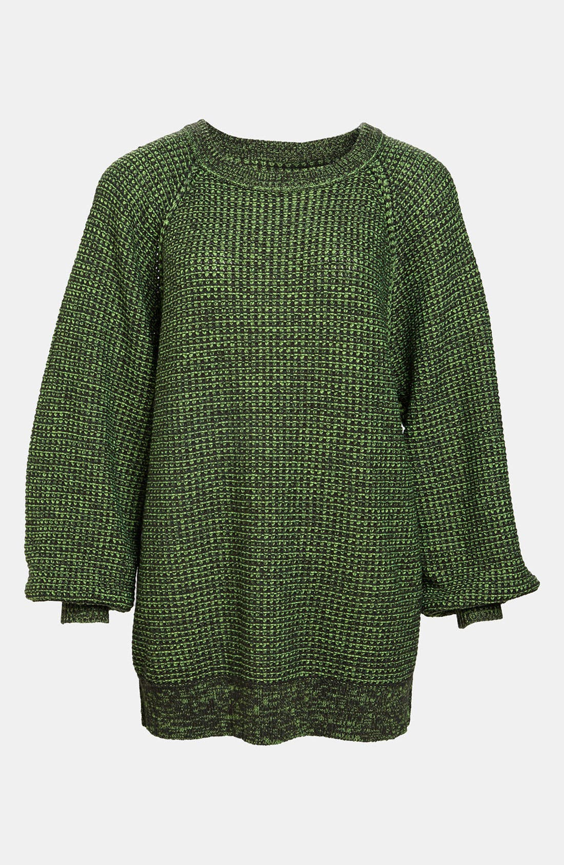 Alternate Image 1 Selected - Leith 'Track' Geometrical Knit Pullover