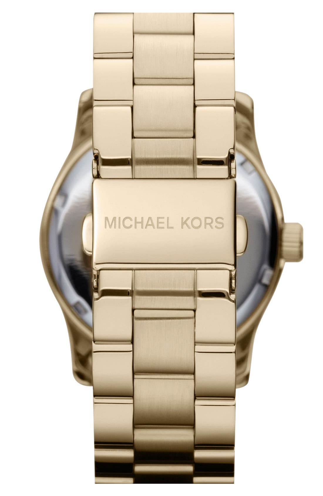 Alternate Image 3  - Michael Kors 'Runway' Crystal Dial Bracelet Watch