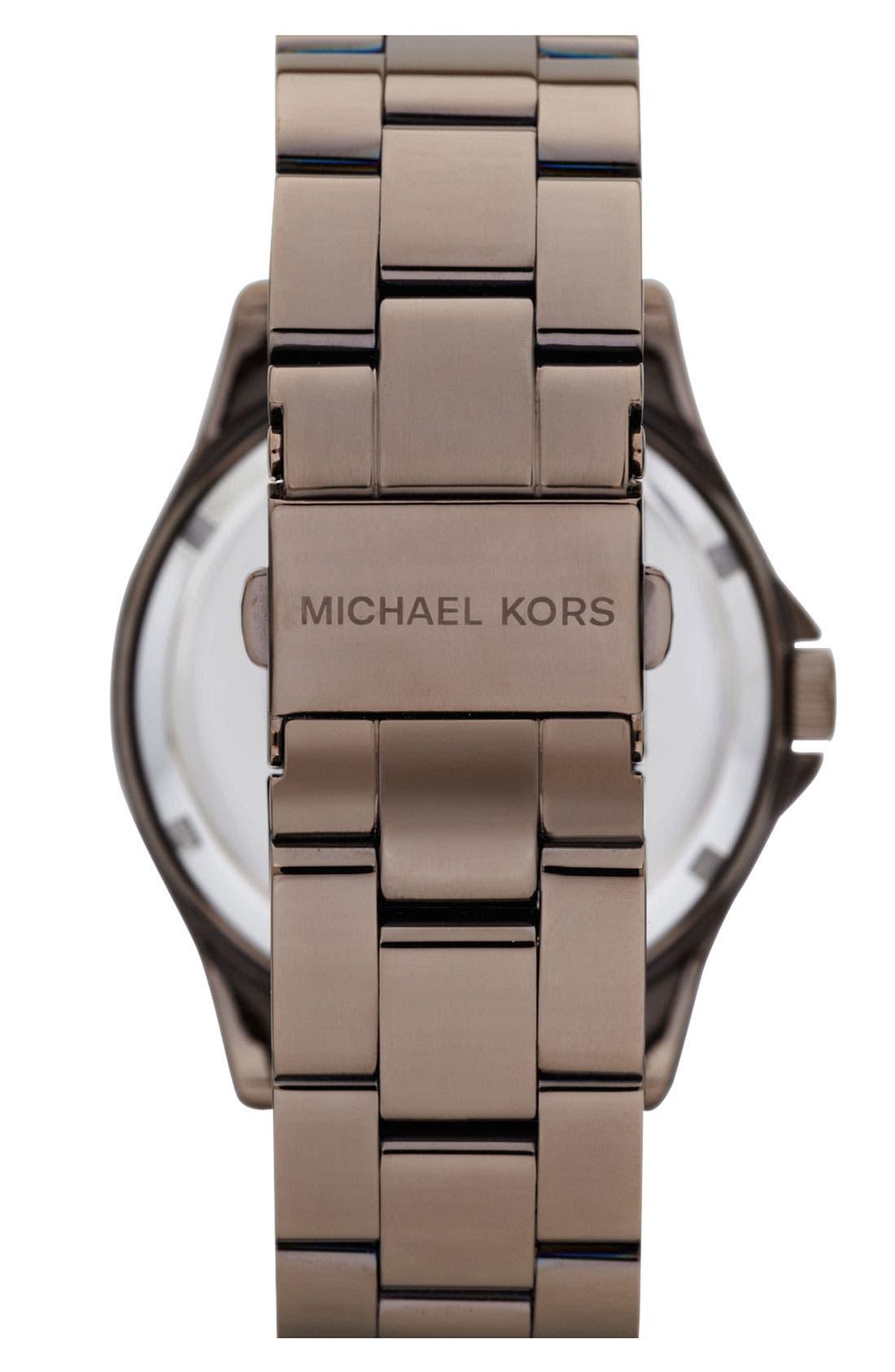 Alternate Image 3  - Michael Kors 'Madison' Round Bracelet Watch, 41mm