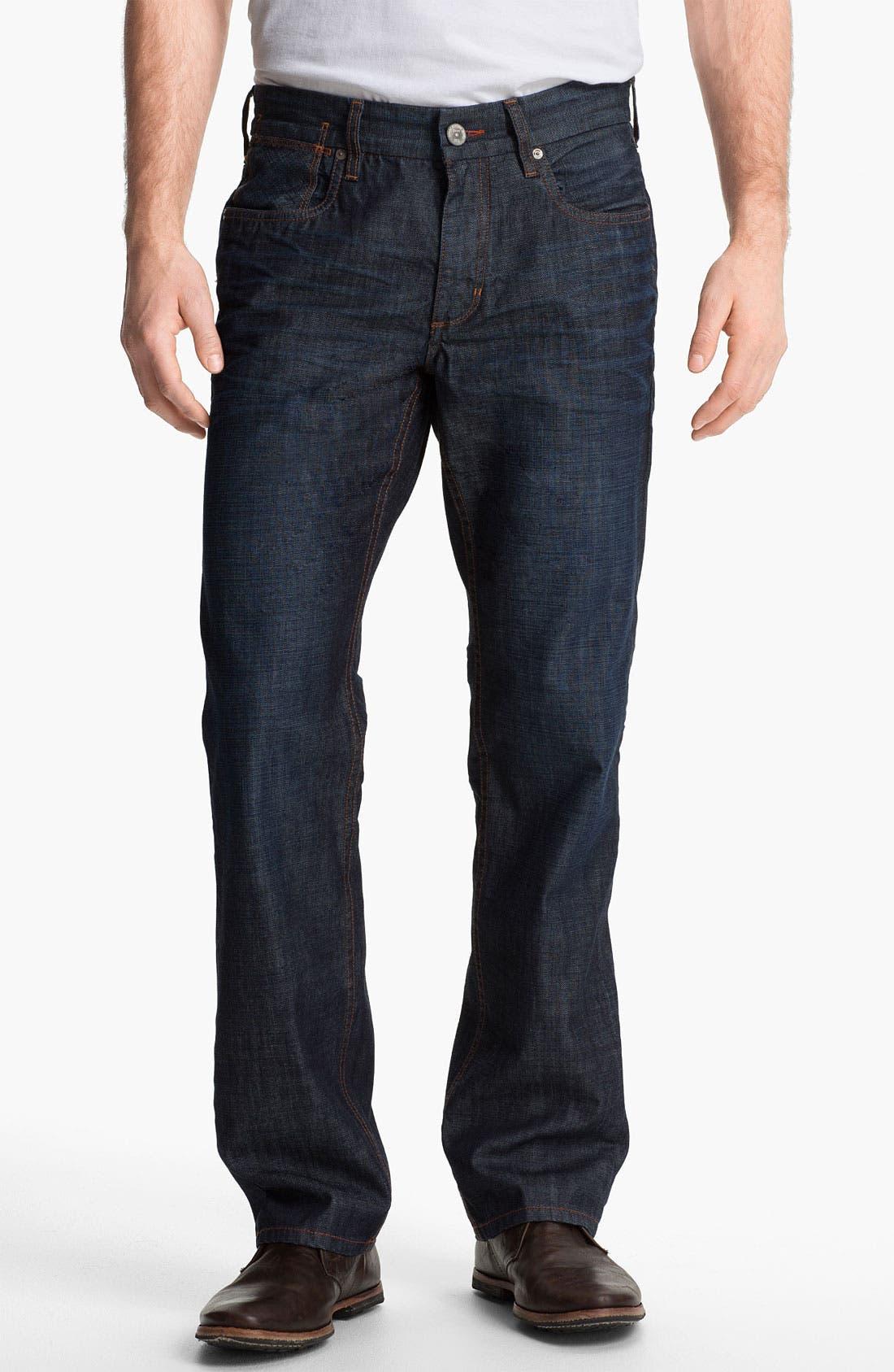 Main Image - Tommy Bahama Denim 'Cruz' Authentic Fit Jeans (Vintage Dark)