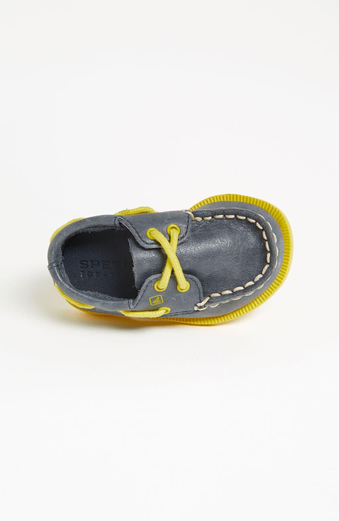 Alternate Image 3  - Sperry Top-Sider® Kids 'Authentic Original' Crib Shoe (Baby)